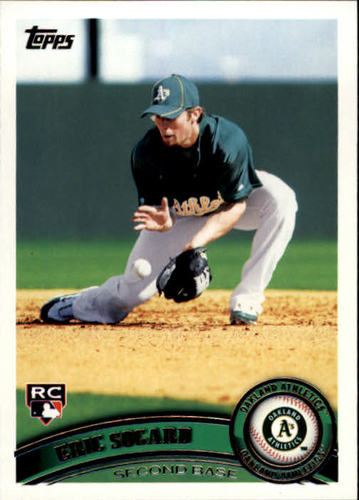 Photo of 2011 Topps #461 Eric Sogard RC