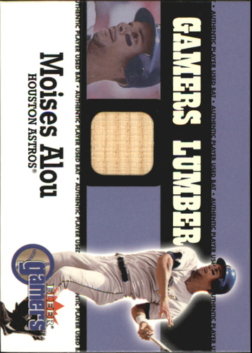 Photo of 2000 Fleer Gamers Lumber #3 Moises Alou