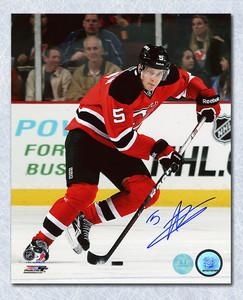 Adam Larsson New Jersey Devils Autographed 8x10 Photo