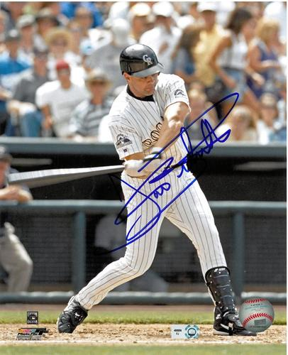 Photo of Dante Bichette Autographed 8x10