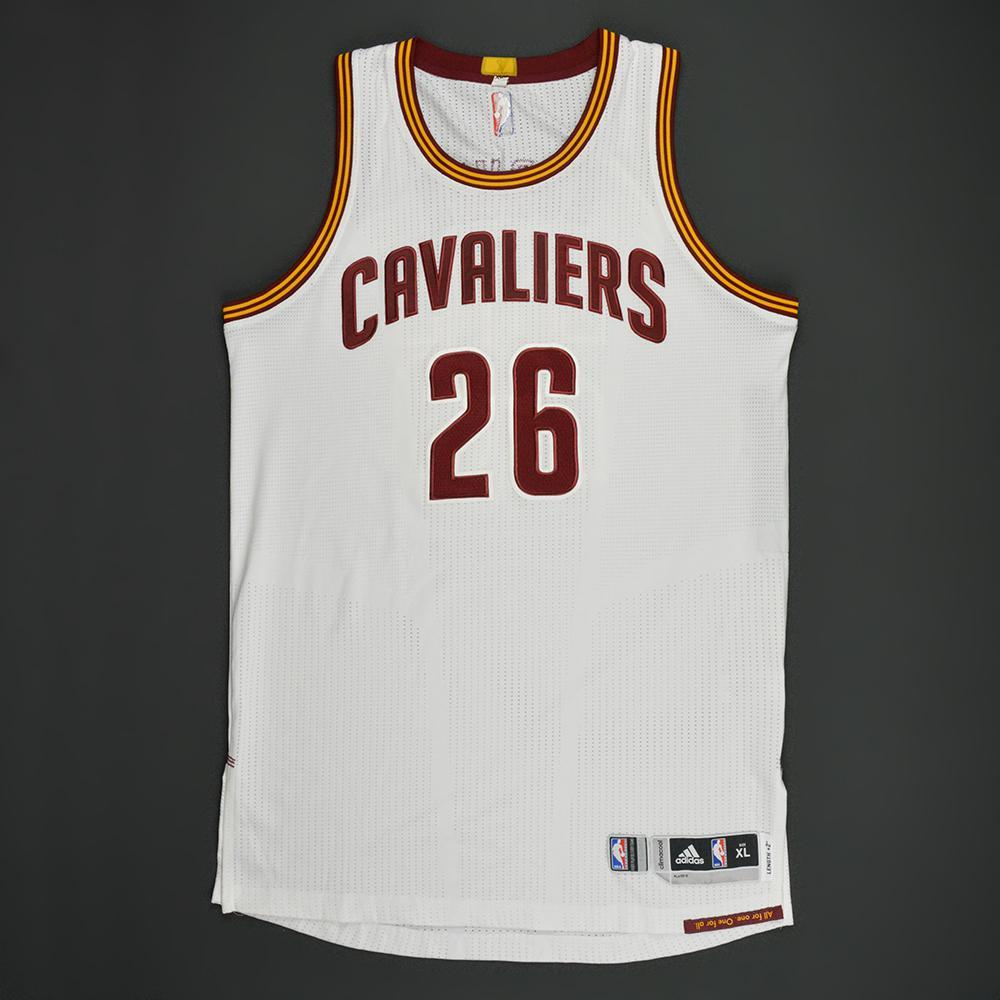 Kyle Korver - Cleveland Cavaliers - White Playoffs Game-Worn Jersey - 2016-17 Season