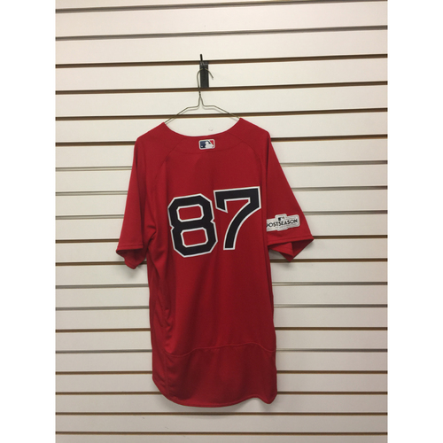 Photo of Mike Brenly Team-Issued 2017 Home Alternate Jersey