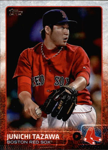 Photo of 2015 Topps #458 Junichi Tazawa