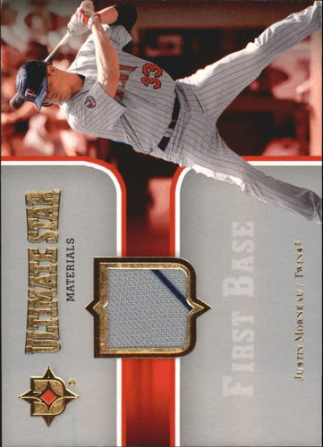 Photo of 2007 Ultimate Collection Ultimate Star Materials #JU Justin Morneau