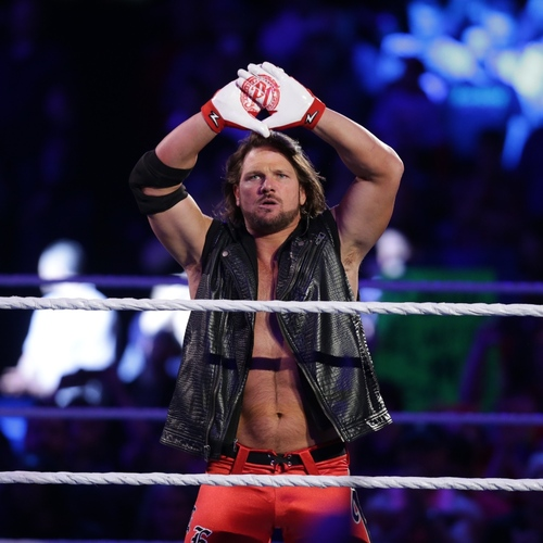 Photo of AJ Styles WORN & SIGNED Gloves (Payback - 05/01/16)