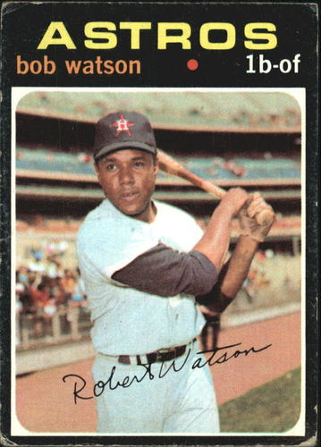 Photo of 1971 Topps #222 Bob Watson