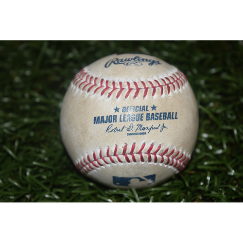 Photo of Game-Used Baseball: Kevin Cash 100th Career Win
