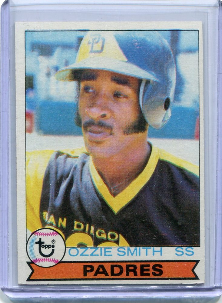 1979 Topps #116 Ozzie Smith Rookie Card -- Hall of Famer