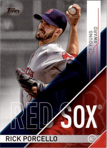 Photo of 2017 Topps MLB Awards #CYA1 Rick Porcello