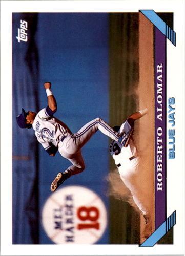 Photo of 1993 Topps #50 Roberto Alomar