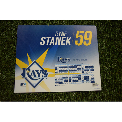 2017 Team-Issued Locker Tag - Ryne Stanek