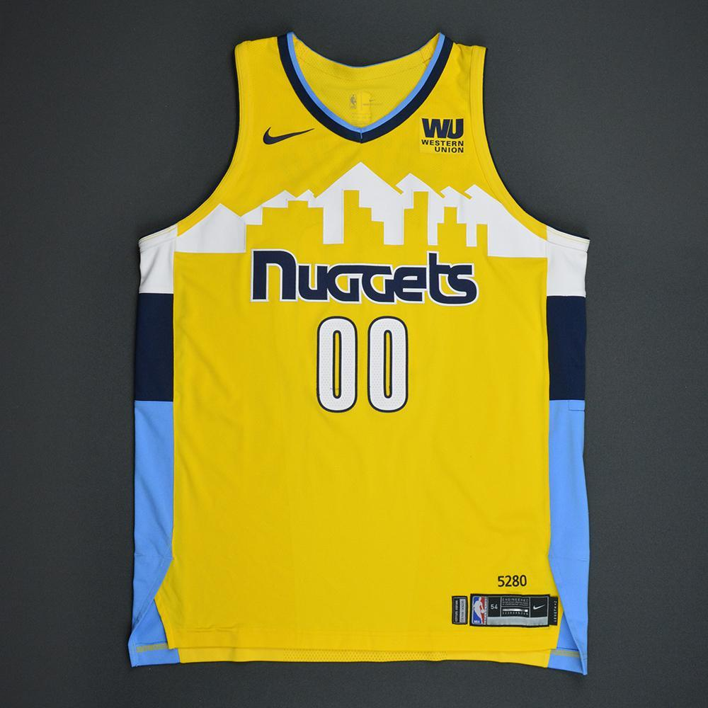 Darrell Arthur - Denver Nuggets - Statement Game-Worn Jersey  - 2017-18 Season