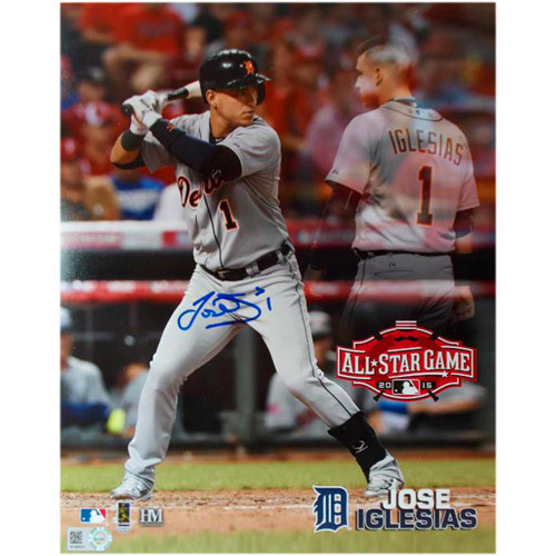 Detroit Tigers Jose Iglesias Autographed All-Star photo