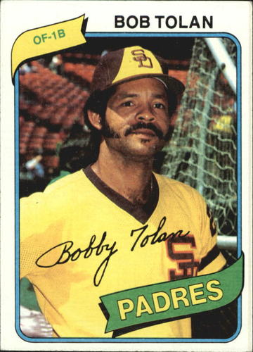Photo of 1980 Topps #708 Bob Tolan