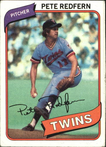 Photo of 1980 Topps #403 Pete Redfern DP