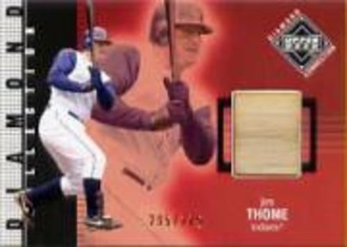 Photo of 2002 Upper Deck Diamond Connection #395 Jim Thome DC Bat