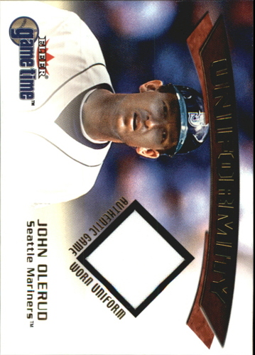 Photo of 2001 Fleer Game Time Uniformity #13 John Olerud