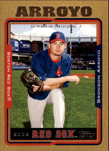 Photo of 2005 Topps Gold #47 Bronson Arroyo