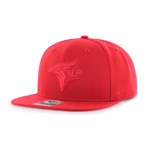 Toronto Blue Jays No Shot Snapback Cap Red by '47 Brand