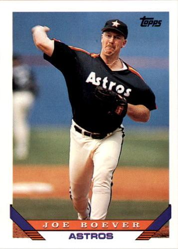 Photo of 1993 Topps #792 Joe Boever