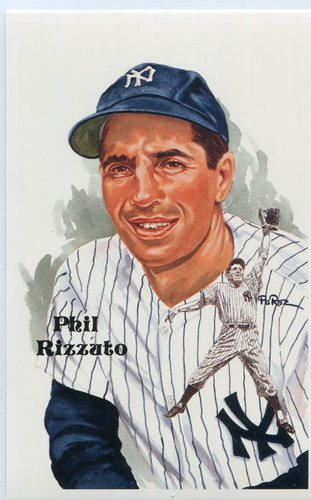 Photo of 1980-02 Perez-Steele Hall of Fame Postcards #219 Phil Rizzuto -- Set #08689