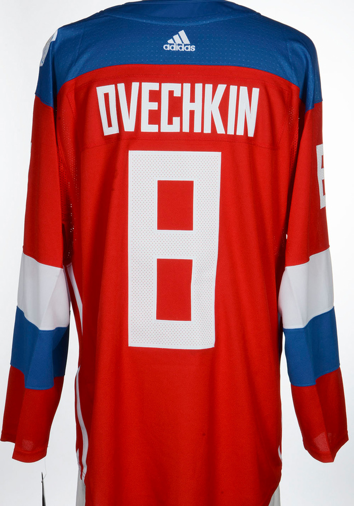 Alex Ovechkin Washington Capitals Adidas Team Russia 2016 World Cup of Hockey Unsigned Jersey