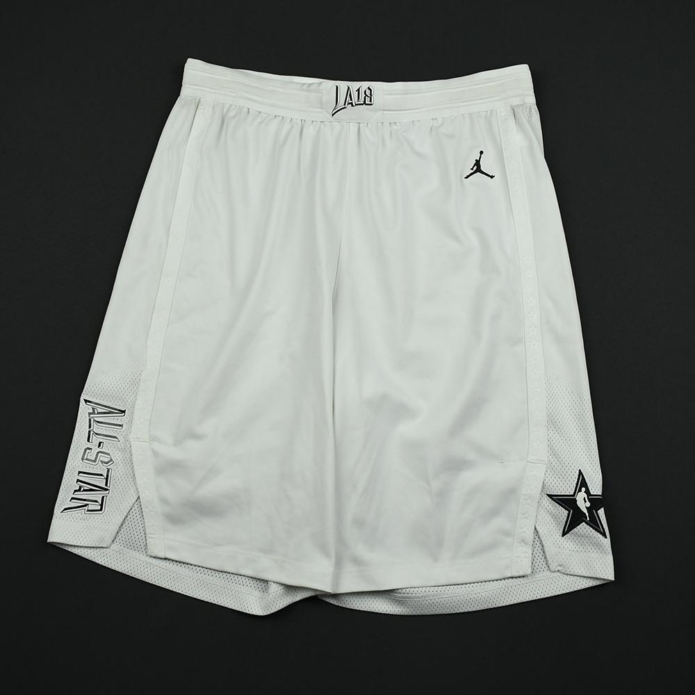 Paul George - 2018 NBA All-Star Game - Team LeBron - Game-Worn Shorts - 1st Half Only