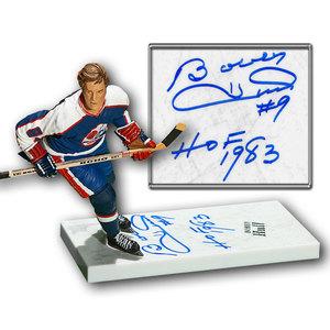 Bobby Hull Winnipeg Jets Autographed HOF McFarlane Figurine