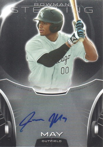 Photo of 2013 Bowman Sterling Prospect Autographs #JMA Jacob May