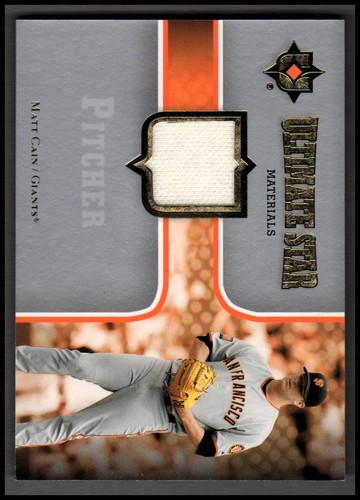 Photo of 2007 Ultimate Collection Ultimate Star Materials #MA2 Matt Cain