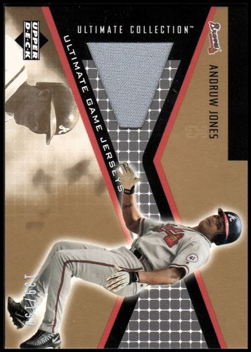 Photo of 2002 Ultimate Collection Game Jersey Tier 4 #AJ Andruw Jones