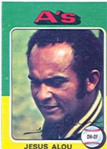 Photo of 1975 Topps #253 Jesus Alou