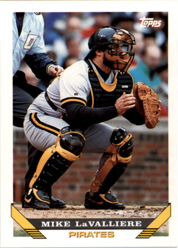 Photo of 1993 Topps #54 Mike LaValliere