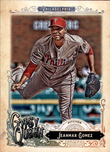 Photo of 2017 Topps Gypsy Queen #104 Jeanmar Gomez