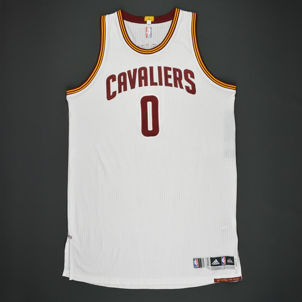 Kevin Love - Cleveland Cavaliers - White Playoffs Game-Worn Jersey - 2nd Half Only - 2016-17 Season