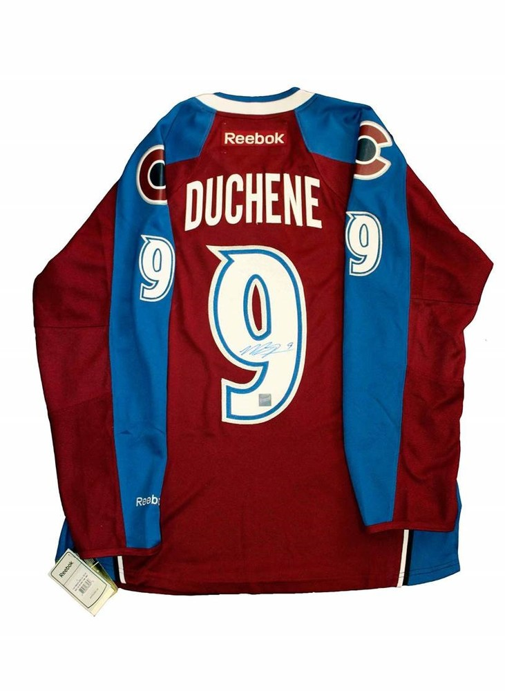 Matt Duchene - Signed Colorado Avalanche Burgundy Jersey