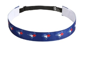 Toronto Blue Jays Women's Satin Headband Royal by Vertical Athletics