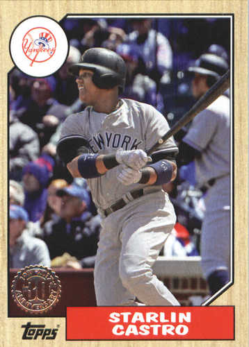 Photo of 2017 Topps Update '87 Topps #US876 Starlin Castro