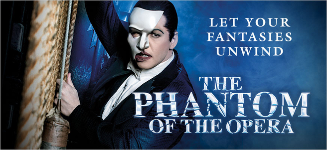 THE PHANTOM OF THE OPERA & MEET THE PHANTOM - PACKAGE 2 of 3