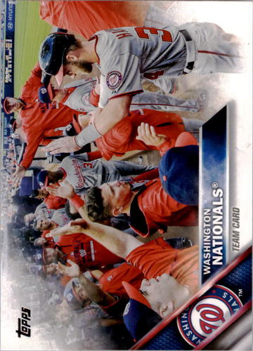 Photo of 2016 Topps #318 Washington Nationals