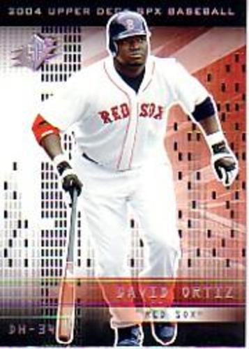 Photo of 2004 SPx #71 David Ortiz