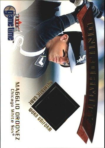 Photo of 2001 Fleer Game Time Uniformity #14 Magglio Ordonez