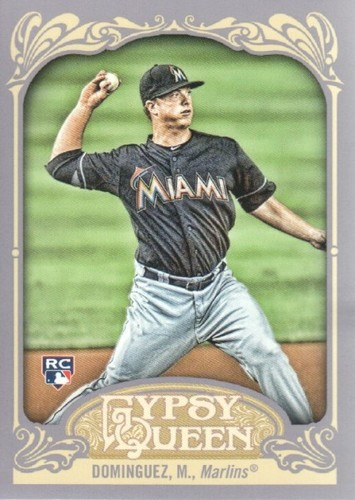 Photo of 2012 Topps Gypsy Queen #207 Matt Dominguez RC