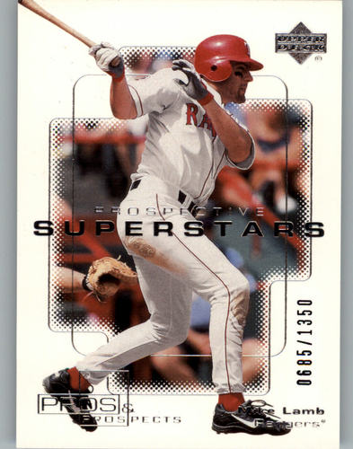 Photo of 2000 Upper Deck Pros and Prospects #102 Mike Lamb PS RC