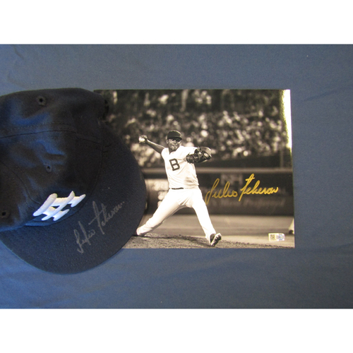 Photo of Braves Charity Auction - Julio Teheran Autographed Hat and Photo