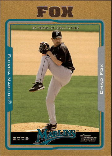 Photo of 2005 Topps Gold #55 Chad Fox