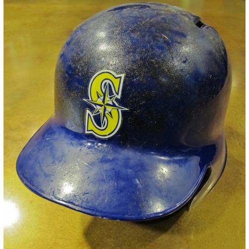 Photo of Nelson Cruz Team-Issued Home Alt Batting Helmet 2016