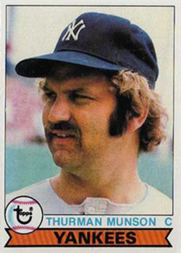 Photo of 1979 Topps #310 Thurman Munson -- His last card