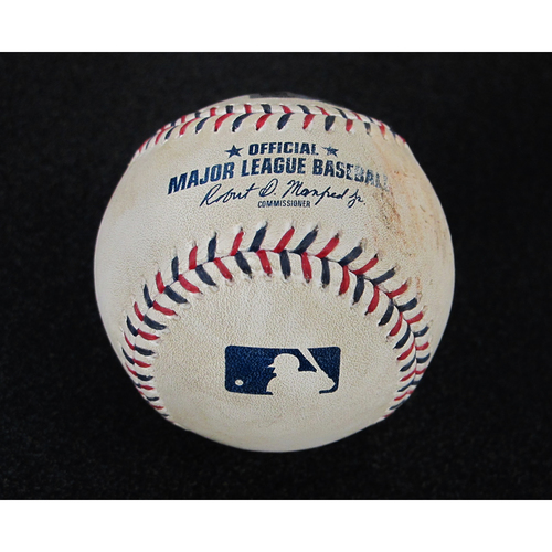 Photo of July 4th 2017 Game-Used Baseball