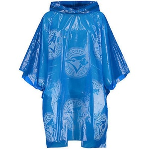 Toronto Blue Jays Rain Poncho Royal Made by Coopersburg Sports
